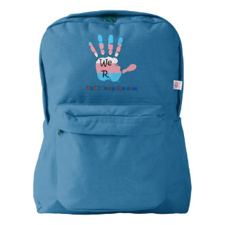 We R1 Transgender Hand Backpack