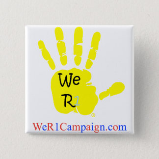 We R1 Yellow Hand Button