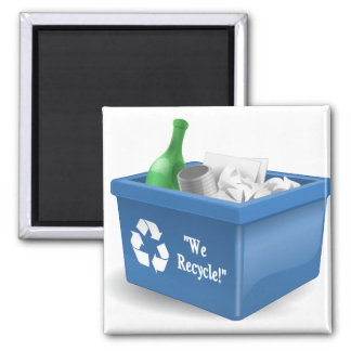 We Recycle Magnet