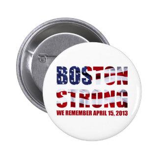 We Remember Boston 6 Cm Round Badge