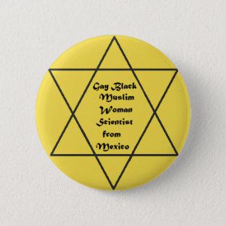We Resist Together 6 Cm Round Badge
