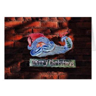 We Say Merry Christmas Greeting Card