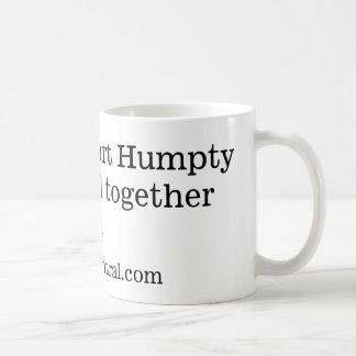 We shall report Humpty Dumpty is all together Mug