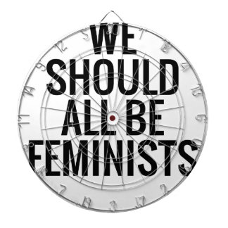 WE SHOULD ALL BE FEMINISTS DART BOARDS