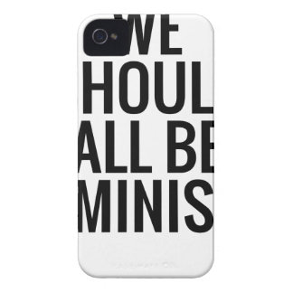 WE SHOULD ALL BE FEMINISTS iPhone 4 CASE