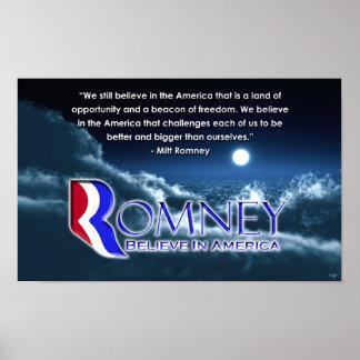 We Still Believe Poster - Romney 2012