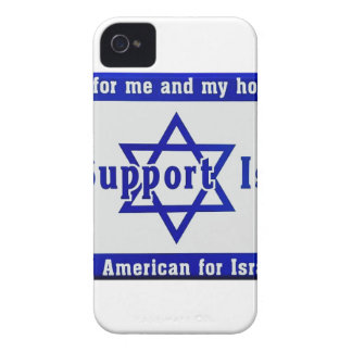 We Support Israel Case-Mate iPhone 4 Case