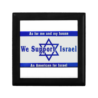 We Support Israel Gift Box