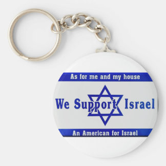 We Support Israel Key Ring