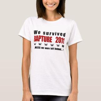 We survived Rapture 2011 T-Shirt