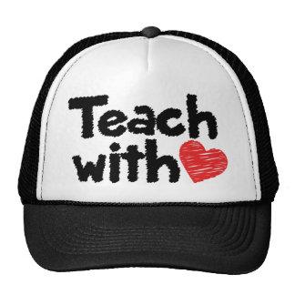 We teach with heart! cap