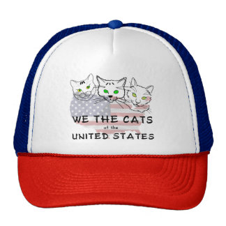We The Cats Of The United States Cap