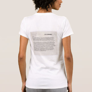 We the People 25th Amendment Constitution Resist T-Shirt