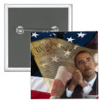 We the People...Barack Obama & the Constitution Pinback Buttons