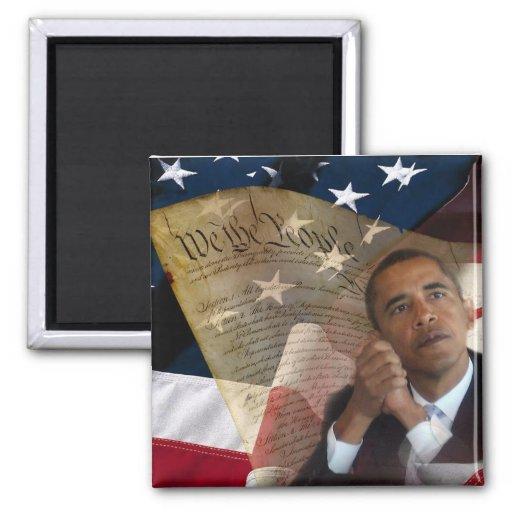 We the People...Barack Obama & the Constitution Fridge Magnets