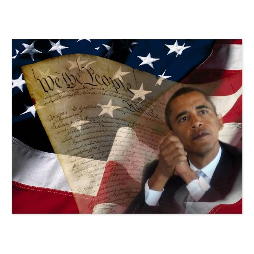 We the People...Barack Obama & the Constitution Post Cards