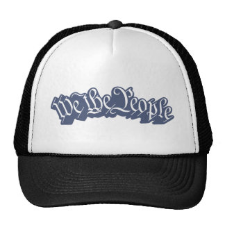 We The People (Blue) Hat