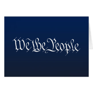 We The People Card