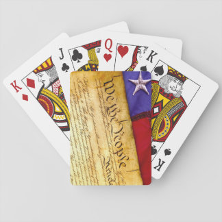 We the People Constitution of the United States Playing Cards