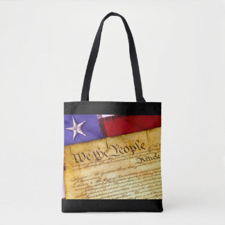 We the People Constitution of the United States Tote Bag