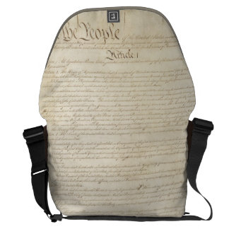 We The People Courier Bag