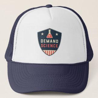 We the People Demand Science in America Trucker Hat