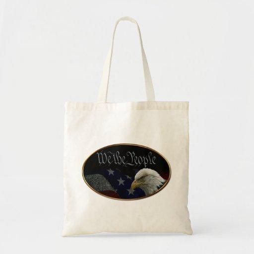 We The People Emblem Tote Bag