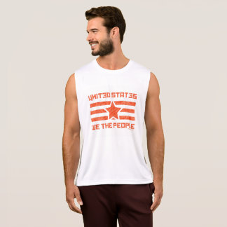 WE THE PEOPLE_faded design Singlet