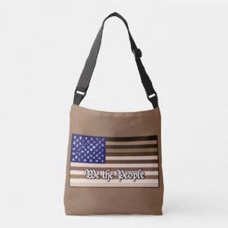 We the People Flag Crossbody Bag