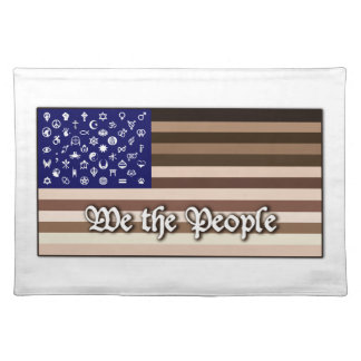 We the People Flag Placemat
