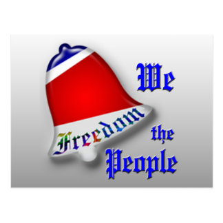 We The People Freedom Post Cards