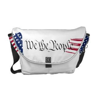 We the People Messenger Bag