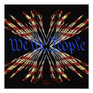 We the People - Rise Poster