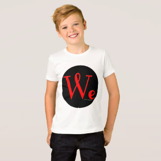 We The People Round Logo Kid's T-Shirt