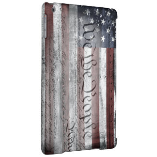 We The People Vintage American Flag iPad Case