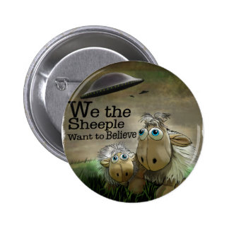 We the Sheeple Button