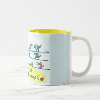 We think we are so fancy.... Two-Tone coffee mug
