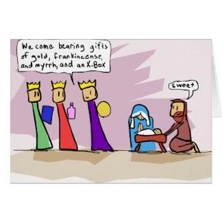 We Three Kings and an X-Box Card