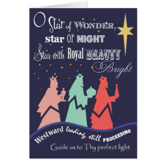 We Three Kings | Holiday Greeting Cards