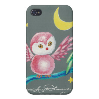 We Three Owls iPhone 4 Cases