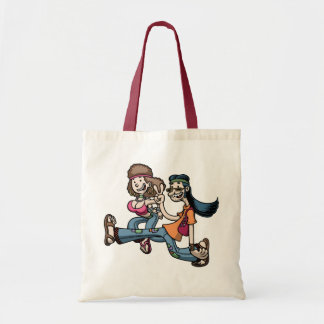 We Truck In Peace Budget Tote Bag