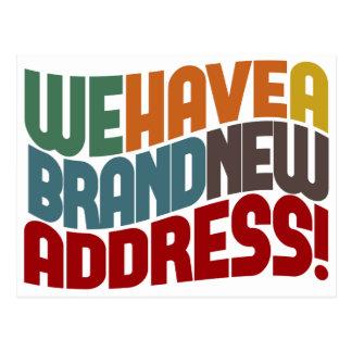 We ve Moved Change Of Address Postcard
