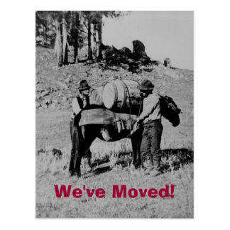 We ve Moved Post Card