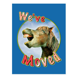 We ve Moved Post Cards
