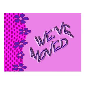 We ve Moved Postcard