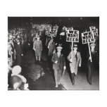We Want Beer! Prohibition Protest, 1931 Stretched Canvas Prints