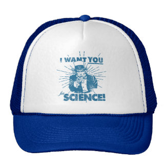 We Want You For Science Hats
