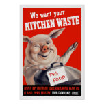We Want Your Kitchen Waste Pig -- WWII