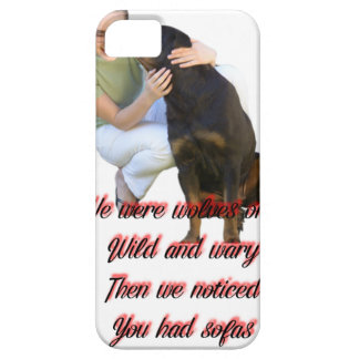 We were wolves once iPhone 5 cases