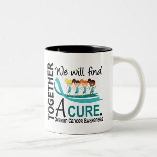 We Will Find A Cure Ovarian Cancer Coffee Mug